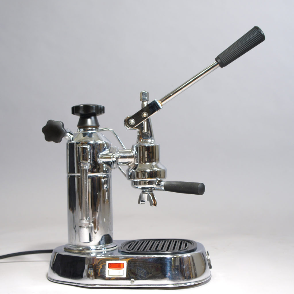 Espresso machine. The La Pavoni Europiccola EPC-8. Renovated with new gaskets.