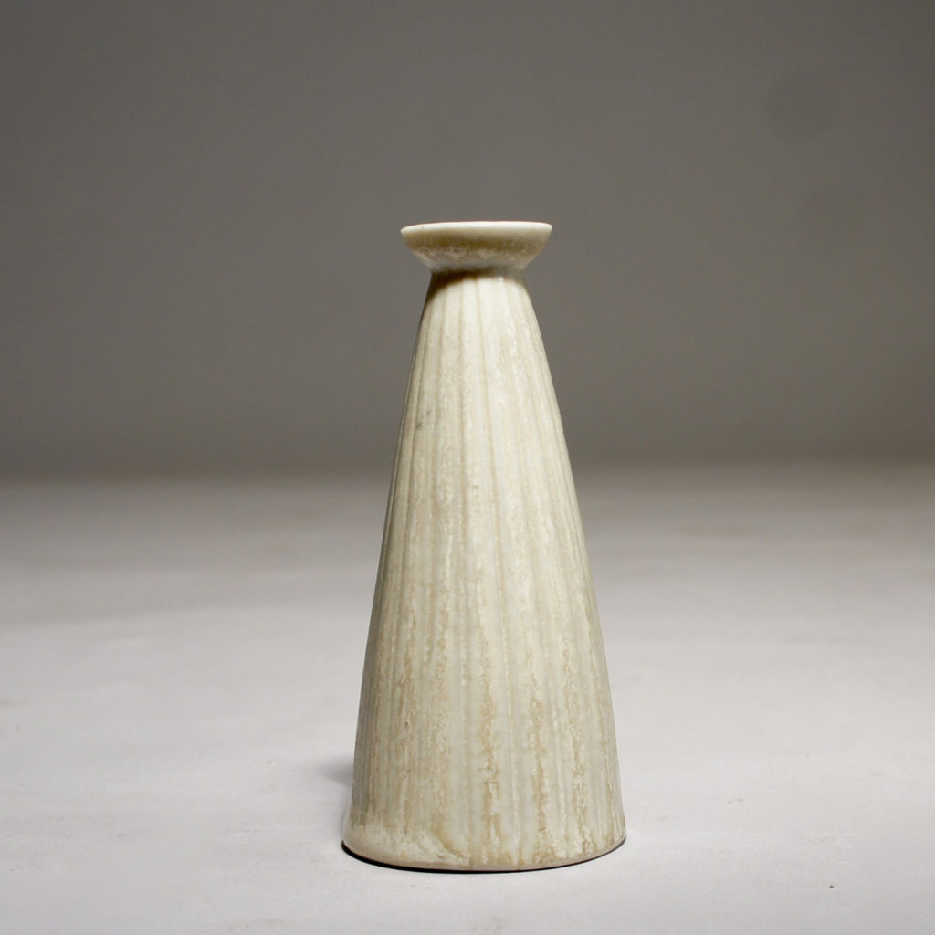 Miniature in stoneware by Gunnar Nylund for Gustavsberg. Height 9,5 cm.
