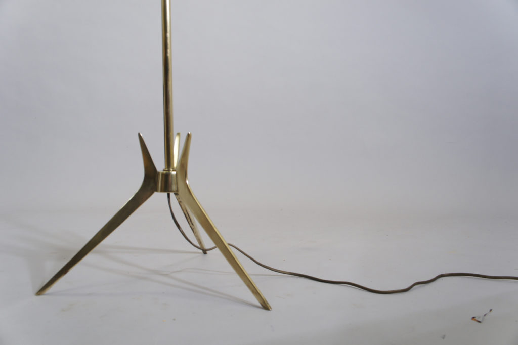 Floor lampa in brass. 1960's