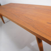 "Nils Jonsson for Troeds, Sweden. ""Domi 127"". Bench in teak."