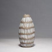 """Ceramic vase by Inger Atterberg for Upsala-Ekeby """"Negro"""""""