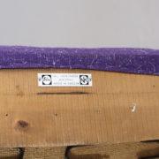 "Bengt Ruda for Nordiska Kompaniet, Sweden. ""Domstolsstolen"". Easy chair in beech with new upholstered seating."