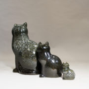 Cats by Lisa Larson for Gustavsberg.