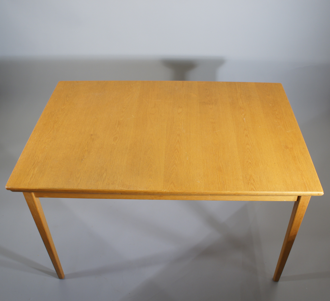 1960u0027s Dining Table In Oak With Exstensionboards