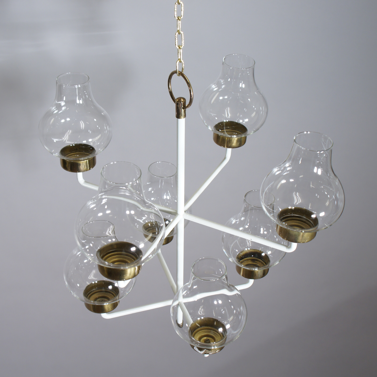 Ceiling chandelier by Anders Pehrson Ateljé Lyktan Sold