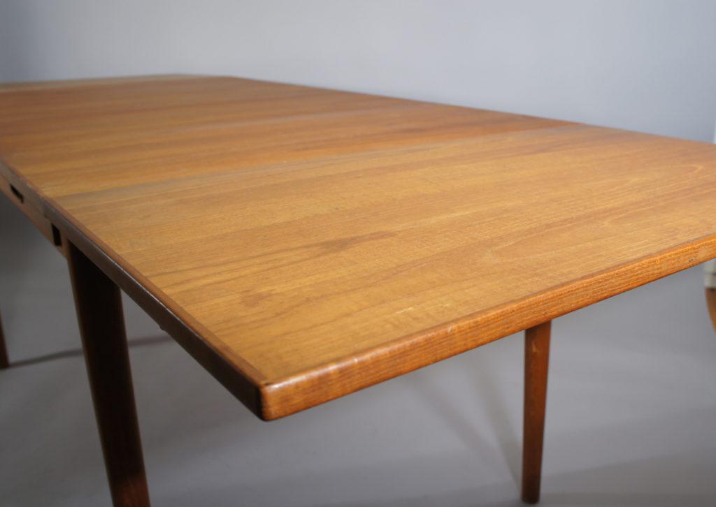 Working Dining Drop Leaf Table In Teak Troeds Sold Wigerdals Varld